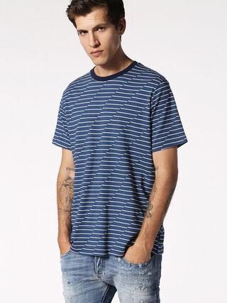 T-ALANIS, Blau/Weiß