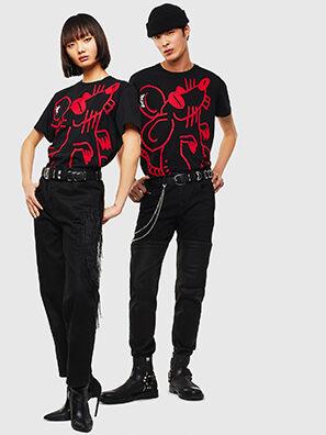 CL-T-DIEGO-2, Schwarz - T-Shirts