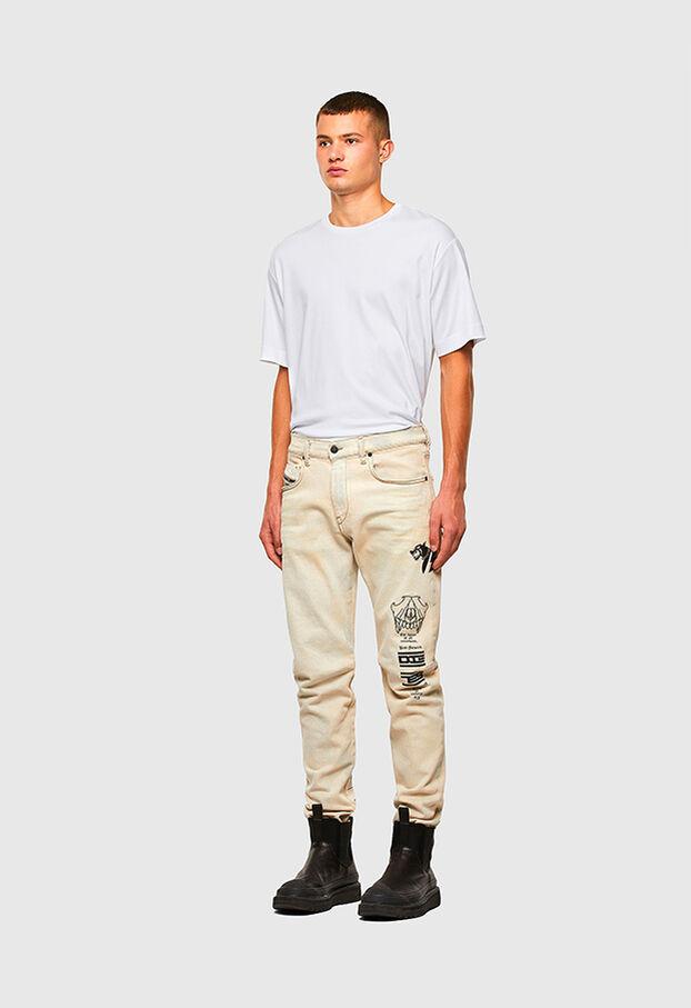 D-Strukt 009KV, Weiß - Jeans