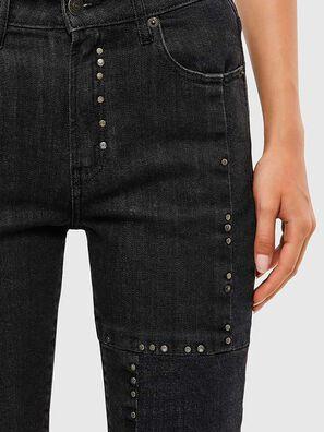 D-Joy JoggJeans 009KY, Schwarz/Dunkelgrau - Jeans