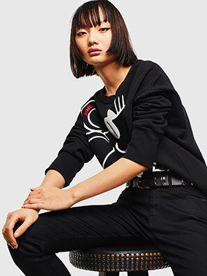 CL-F-MAGDA-BIGM, Schwarz - Sweatshirts