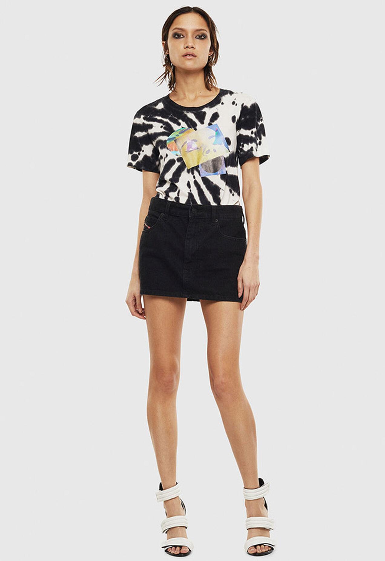 T-SILY-S4, Schwarz/Weiß - T-Shirts