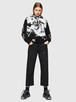 S-ALBY-Y, Schwarz/Weiß - Sweatshirts
