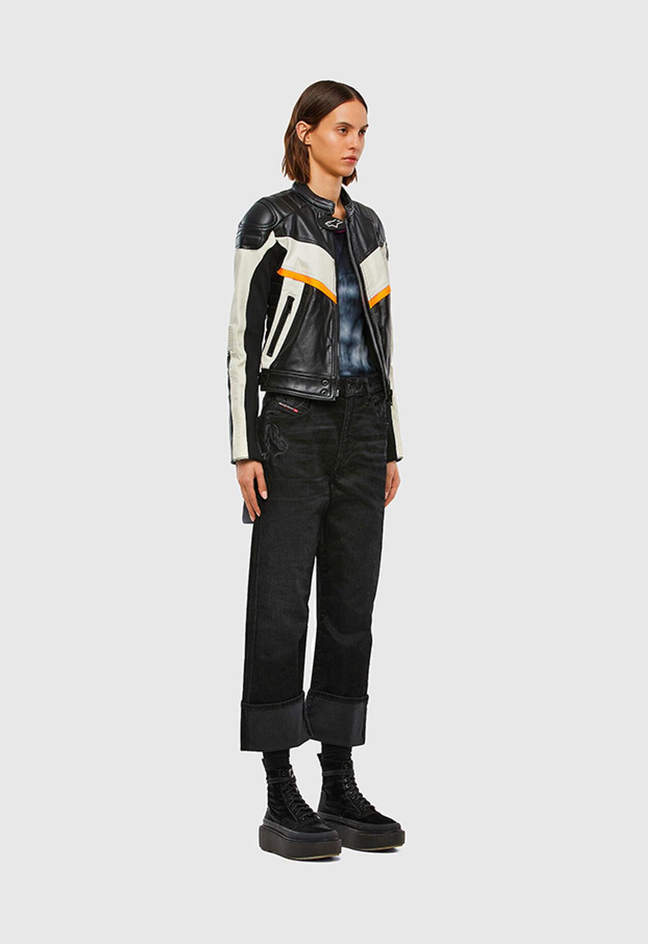 D-Reggy 009LC, Schwarz/Dunkelgrau - Jeans