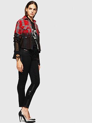 Babhila 0092T, Schwarz/Dunkelgrau - Jeans