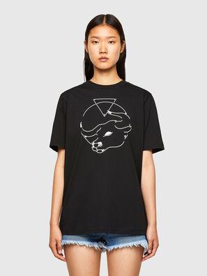 CL-T-JUST-O, Schwarz - T-Shirts
