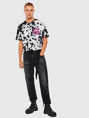 T-JUST-J23, Schwarz/Weiß - T-Shirts