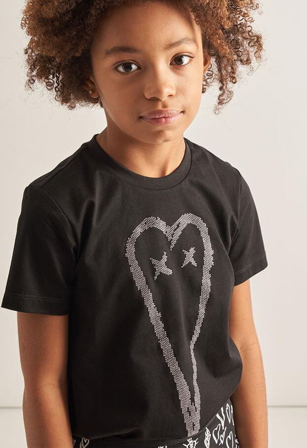 TSILYHEART, Schwarz - T-Shirts und Tops