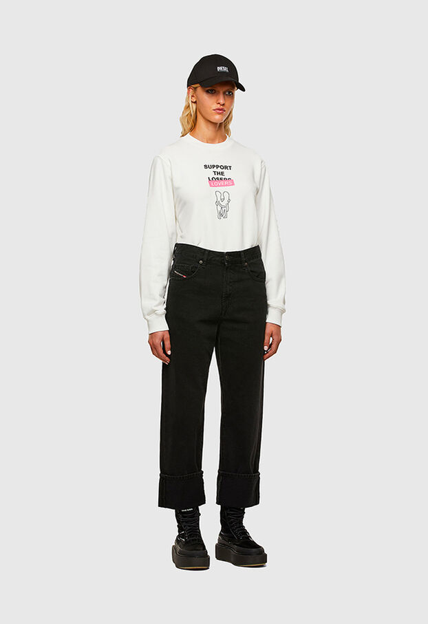 F-ANG-R10, Weiß - Sweatshirts