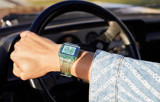 DZ1921, Azurblau - Uhren