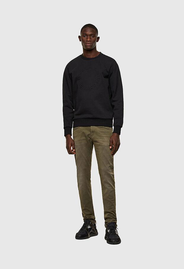 D-Strukt JoggJeans® 0670M, Vert Militaire - Jeans