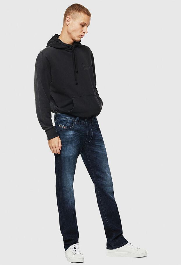 Larkee 0095W, Dunkelblau - Jeans