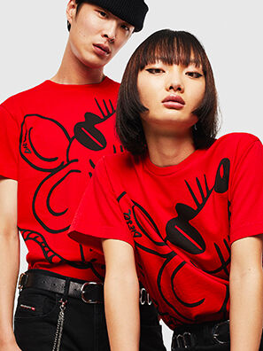 CL-T-DIEGO-2, Rot - T-Shirts
