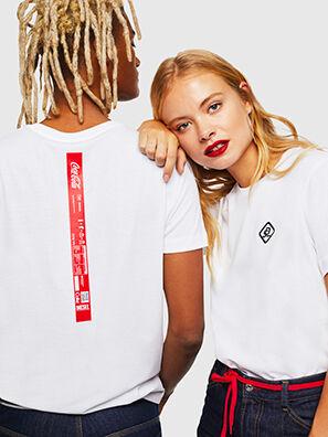 CC-T-DIEGO-COLA, Weiß - T-Shirts
