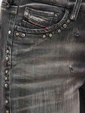 Slandy 069QR, Schwarz/Dunkelgrau - Jeans