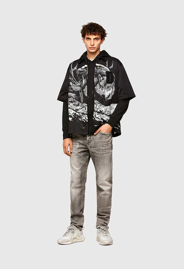 D-Fining 069SV, Gris Clair - Jeans