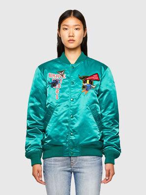 CL-J-ROSS-REV-O, Wassergrün - Jacken