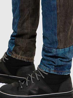 D-Kras 009EA, Schwarz/Dunkelgrau - Jeans