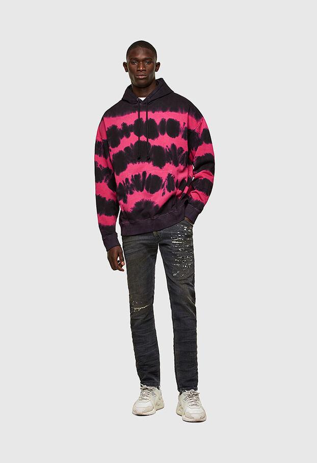KROOLEY JoggJeans® 069SX, Black/Dark grey - Jeans