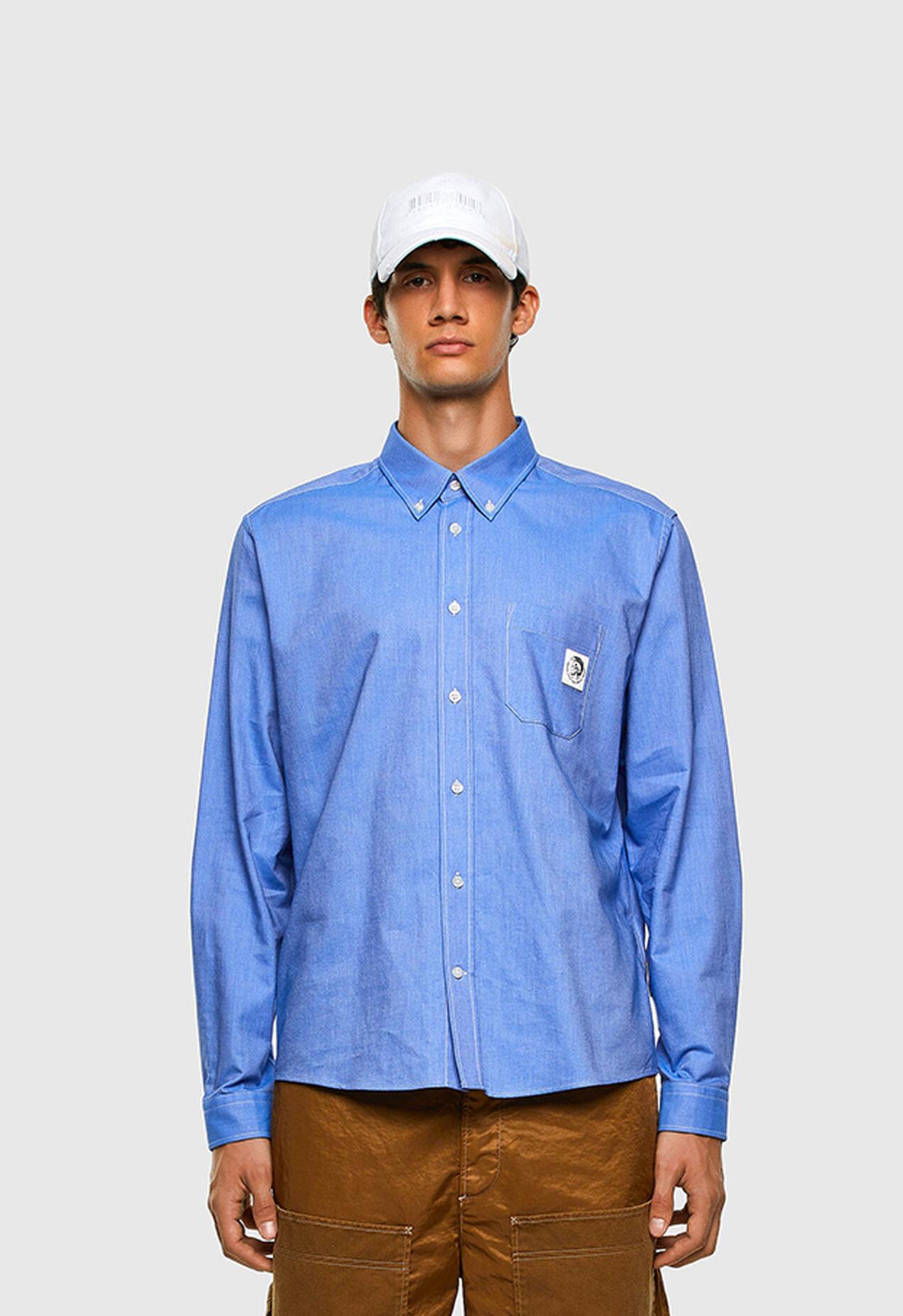 S-JAMES, Blau - Hemden