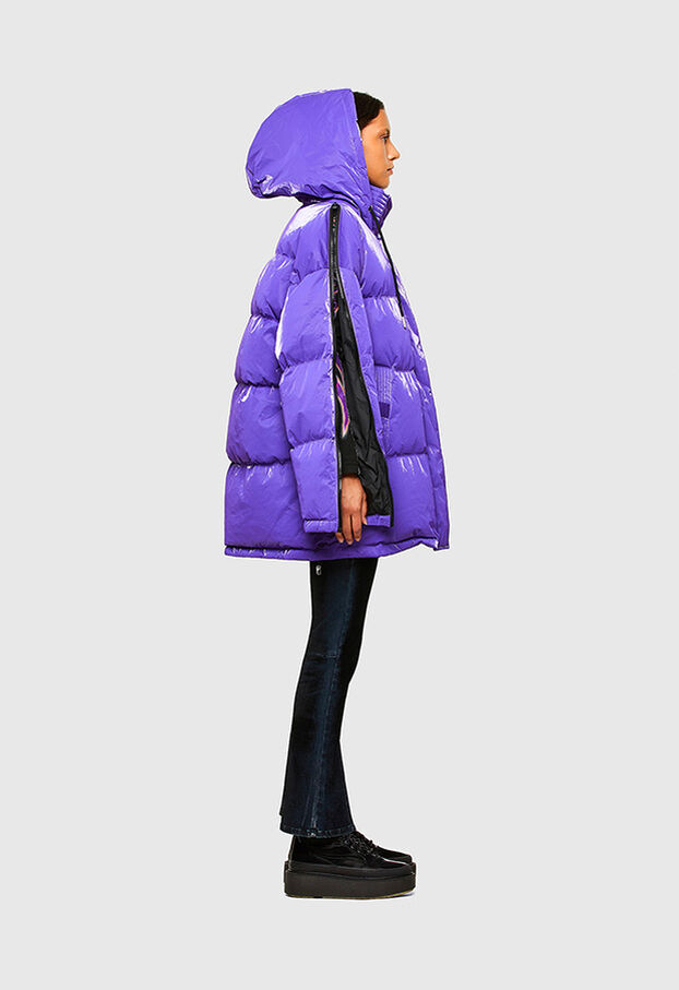 W-DERK, Violet - Vestes d'hiver