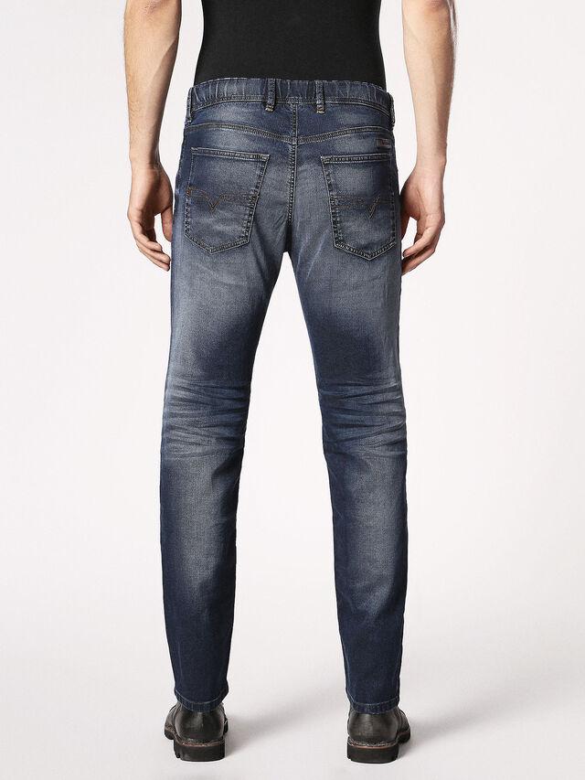 Diesel - Waykee JoggJeans 0683Y, Dunkelblau - Jeans - Image 3