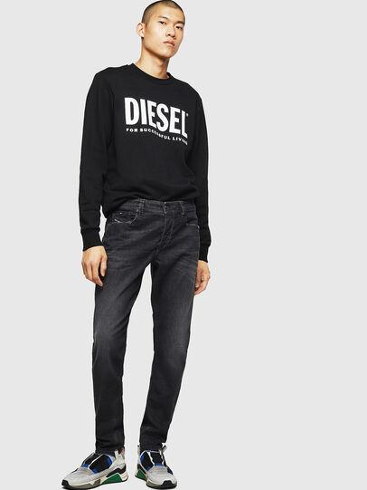 Diesel - Larkee-Beex 082AS, Schwarz/Dunkelgrau - Jeans - Image 5