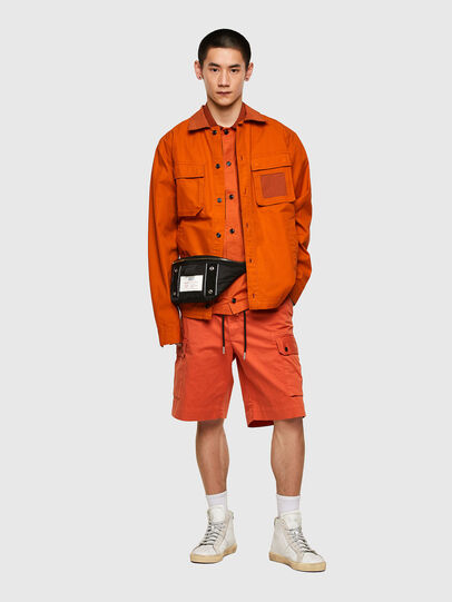 Diesel - S-GUNN-LS, Orange - Chemises - Image 5