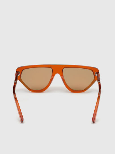 Diesel - DL0322, Arancione - Occhiali da sole - Image 4