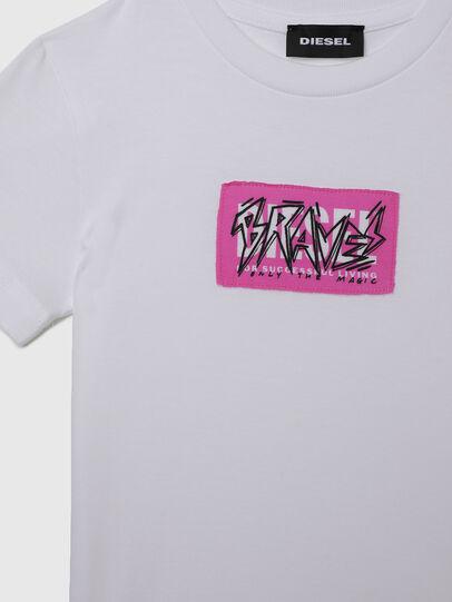 Diesel - TJUSTX62B-R, Blanc - T-shirts et Hauts - Image 3