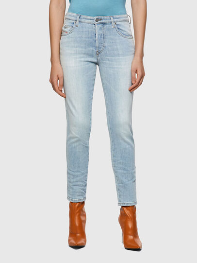 Diesel - Babhila 009ZZ, Blu Chiaro - Jeans - Image 1