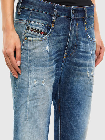 Diesel - Fayza 009LF, Mittelblau - Jeans - Image 4