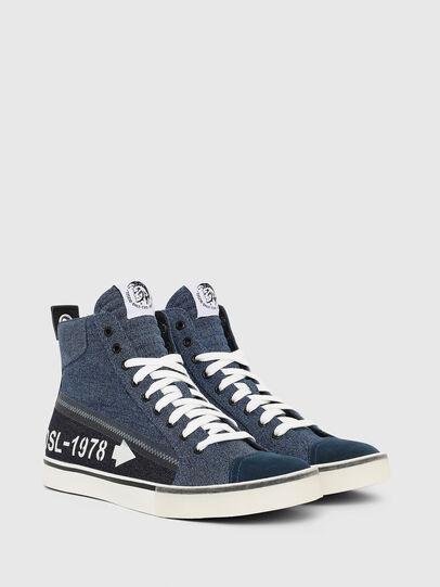 Diesel - S-DVELOWS MID, Jeansblau - Sneakers - Image 2