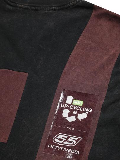Diesel - D-FRANK&STEIN, Rot/Schwarz - T-Shirts - Image 6