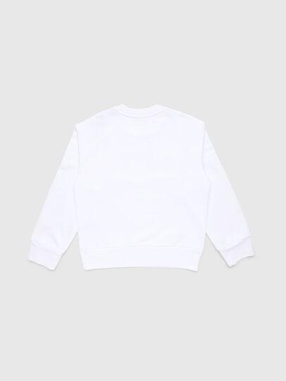 Diesel - SCREWDIVISION-LOGO O, Weiß - Sweatshirts - Image 2