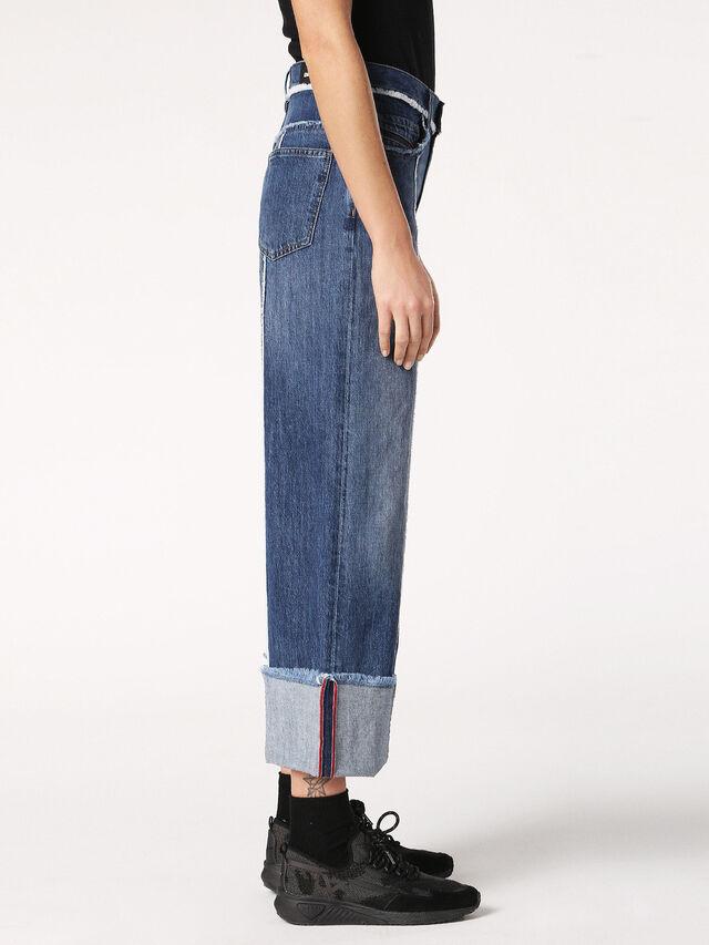 WIDEE-F 084TE, Jeansblau