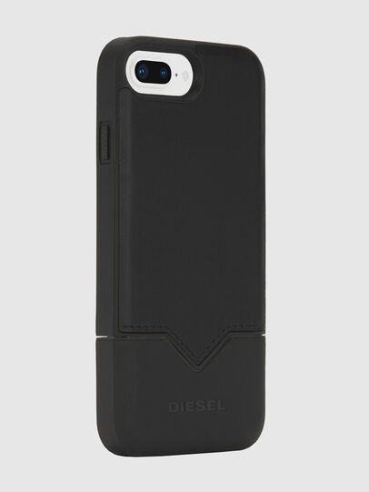 Diesel - CREDIT CARD IPHONE 8 PLUS/7 PLUS/6S PLUS/6 PLUS CASE, Schwarz - Schutzhüllen - Image 4