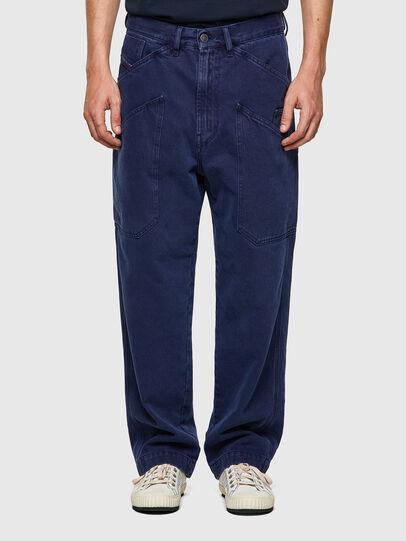 Diesel - D-Franky 0EEAX, Blu medio - Jeans - Image 1