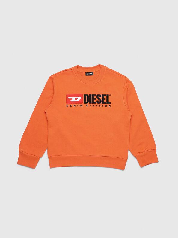 SCREWDIVISION OVER, Orange - Sweatshirts