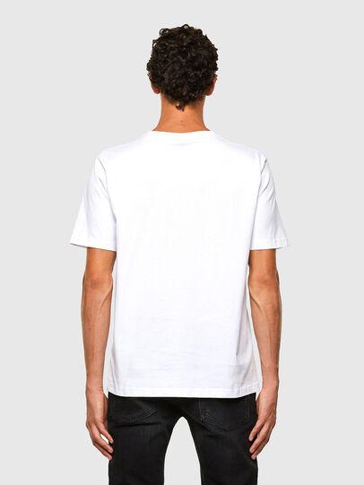 Diesel - T-JUST-N43, Weiß - T-Shirts - Image 2