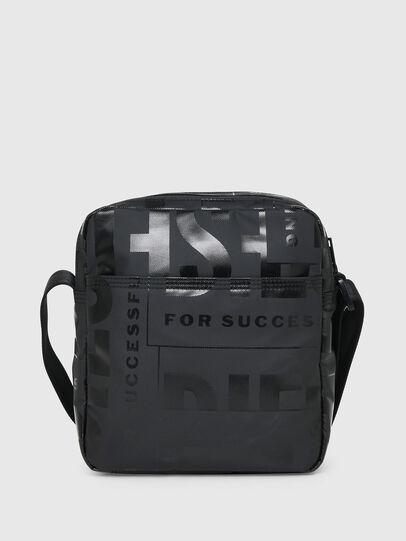 Diesel - X-BOLD DOUBLE CROSS, Black - Crossbody Bags - Image 2