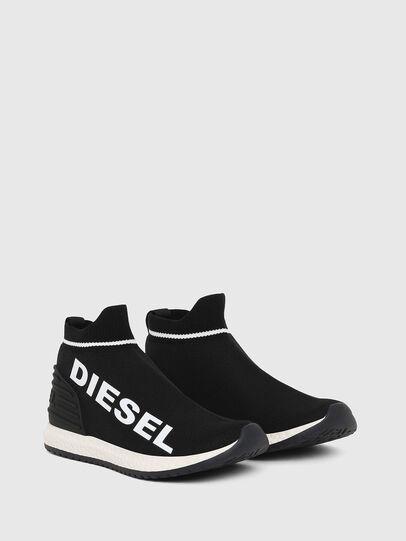 Diesel - SLIP ON 03 LOW SOCK, Schwarz - Schuhe - Image 3