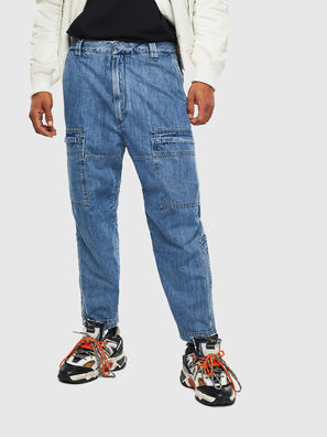 D-Luks 009CL, Hellblau - Jeans