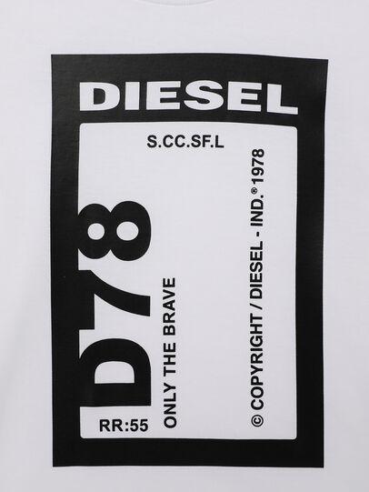 Diesel - TFULL78B-R, Weiß - T-Shirts und Tops - Image 3