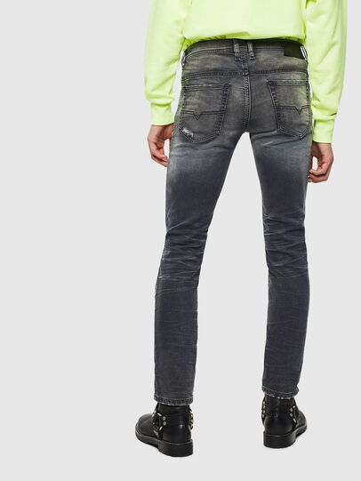 Diesel - Thommer JoggJeans 069KK, Schwarz/Dunkelgrau - Jeans - Image 2