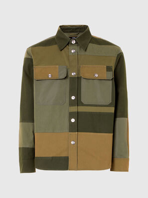 S-HORUS, Olivgrün - Hemden