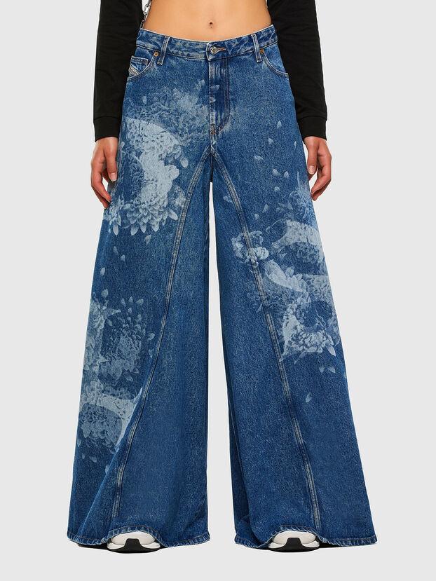 D-Spritzz 009GV, Mittelblau - Jeans