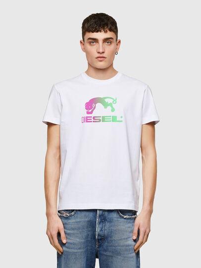 Diesel - T-DIEGOS-E30, White - T-Shirts - Image 1