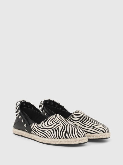 Diesel - S-LIMA W, Noir/Blanc - Chaussures Plates - Image 2