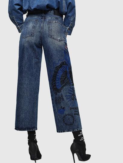 Diesel - Widee 0092Z, Mittelblau - Jeans - Image 2